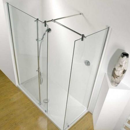 Kudos Ultimate 1700 x 800mm Flat Panel Corner Walk-in Enclosure