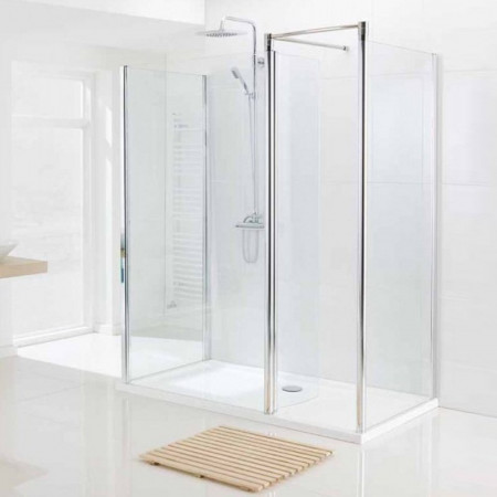 Lakes 1200mm Walk In Shower Enclosure