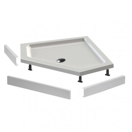 Lakes Easy Plumb Shower Tray Kit 4