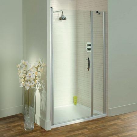 Lakes Italia Latina 1000mm Pivot Shower Door & In Line Panel
