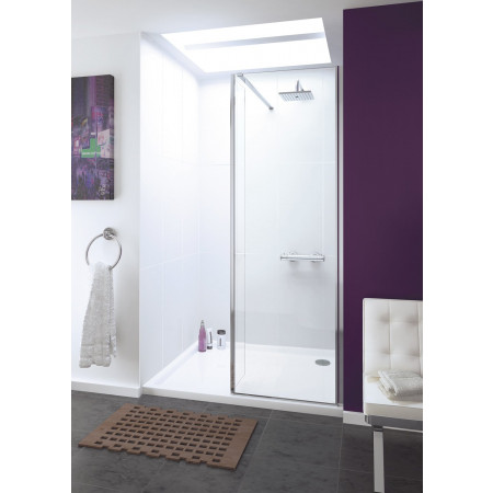Lakes Levanzo 800mm Shower Panel & Bypass Panel