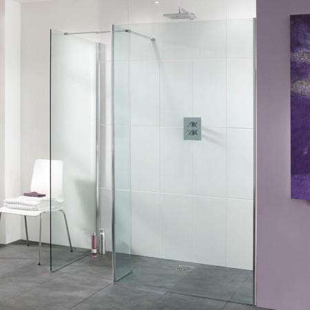 Lakes Palma 1100mm Walk In Shower Panel