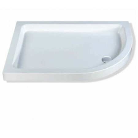 MX Classic Offset Quadrant Stone Resin Shower Tray 1200 x 800mm Right Hand