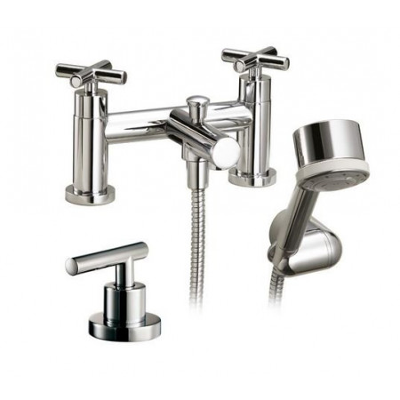 Marflow Exena Cross Head Bath Shower Mixer with Multi Flow Handset