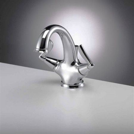 Marflow Joust Basin mixer with Pop-up Waste JOU410.01