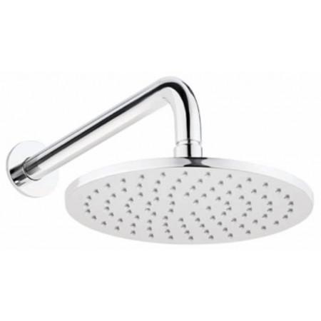Marflow Round Brass Rub Clean Showerhead 200mm NR200RO