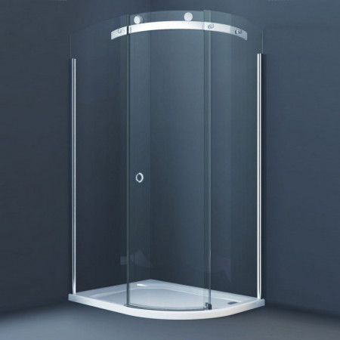 Merlyn 10 Series Offset Quadrant Shower Enclosure, 1000 x 800mm