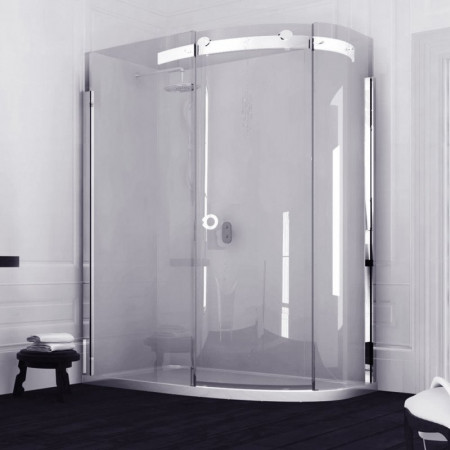 Merlyn 10 Series Offset Quadrant Shower Enclosure, 1200 x 900