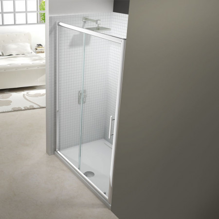 Merlyn 6 Series 1400mm Sliding Shower Door