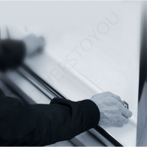 Merlyn 8 Series 1800mm Sliding Shower Door and Inline Panel