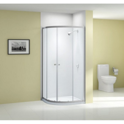 Merlyn Ionic Source 1200 x 900mm 2 door offset quadrant shower enclosure