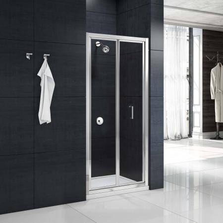Merlyn MBox Bifold Shower Door 900mm