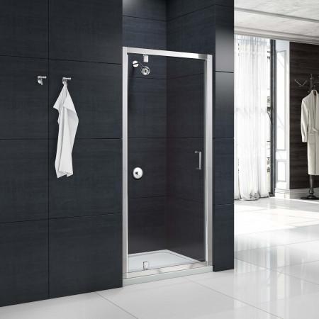 Merlyn MBox 760mm Pivot Shower Door