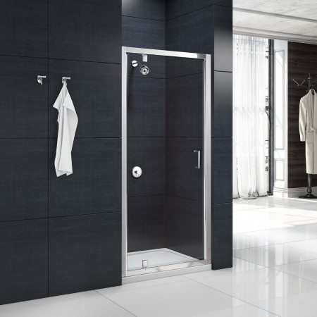 Merlyn Mbox Pivot Shower Door 800mm