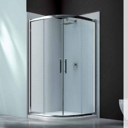Merlyn Series 6 2 Door 1000mm x 1000mm Quadrant Shower Enclosure