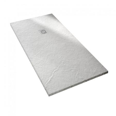 Merlyn Truestone 1400 x 800mm White Rectangular Tray