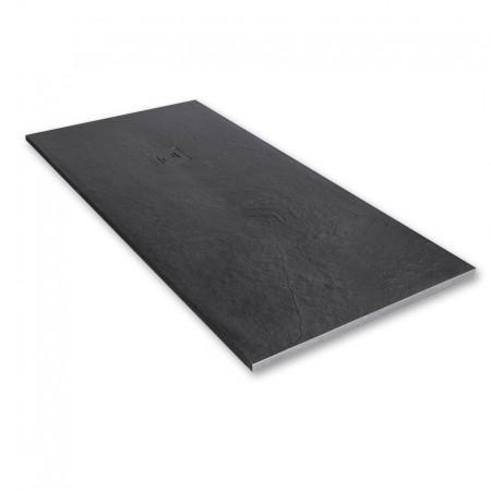 Merlyn Truestone 1500 x 800mm Slate Black Rectangular Tray