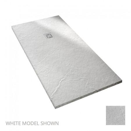 Merlyn Truestone 1600 x 800mm White Rectangular Tray