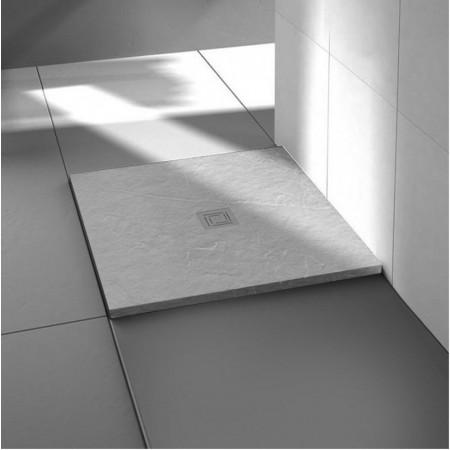 Merlyn Truestone 900 x 900mm White Square Tray