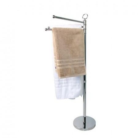 Miller Classic Freestanding 3-Arm Towel Holder