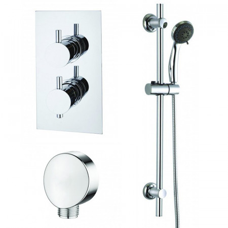 Niagara Equate Concealed Shower Valve Pack 1 with Slide Rail Kit & Wall Outlet