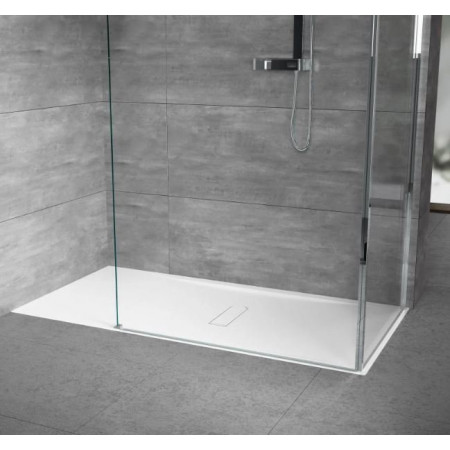 Novellini Custom 1200 x 800mm Low Profile Level Access Shower Tray Flush Floor