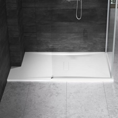 Novellini Custom 1400 x 700mm Low Profile Level Access Shower Tray Customisable