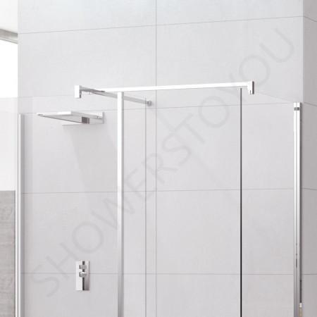 Novellini Kuadra H10 900mm Depth Walk in Shower Enclosure