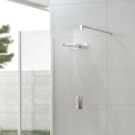 Novellini Kuadra H8 1400mm Shower Panel