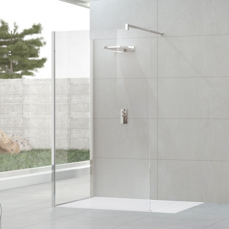 Novellini Kuadra H8 700mm L Shape Shower Panels