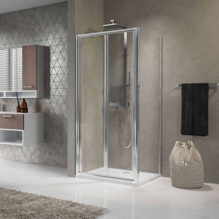 Novellini Lunes 760mm/800mm Bifold Shower Door
