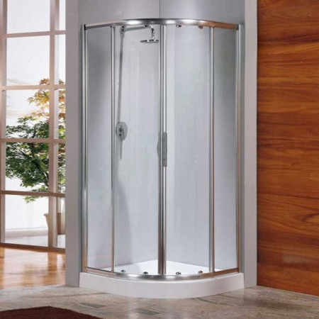 Novellini Lunes Offset Quadrant Shower Enclosure 1200mm x 800mm