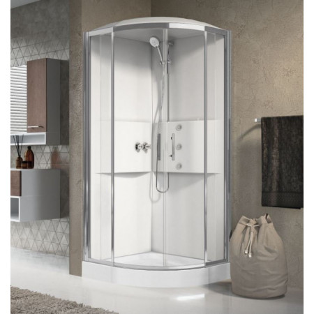 Novellini Media 900 Quadrant Complete Shower Enclosure & Shower Tray