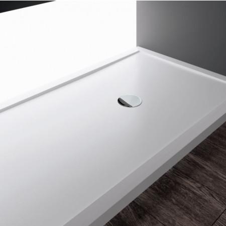 Novellini Olympic Plus Shower Tray 1200mm x 700mm white finish 12.5cm Height