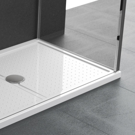 Novellini Olympic Plus Shower Tray 1700mm x 800mm White finish 12.5cm Height