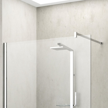 Novellini Shower Panel, Kuadra H 1400mm