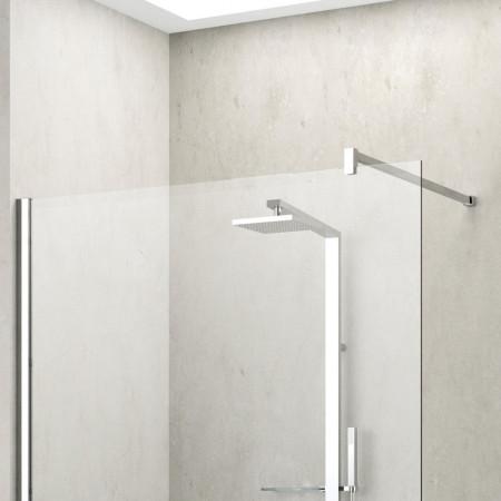 Novellini Shower Panel, Kuadra H 700mm KUADH70 live