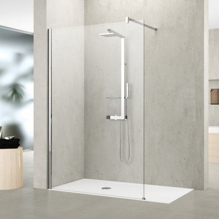 Novellini Shower Panel, Kuadra H 750mm