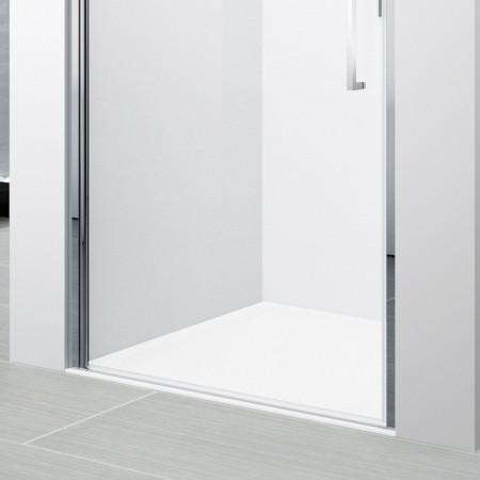 Novellini Young 1B 570-610mm Hinged Shower Door