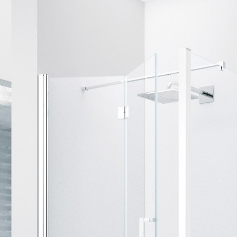 Novellini Young 720-760mm Folding Shower Door