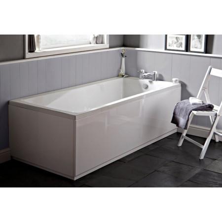 Premier Linton 1700 x 750mm single ended square bath