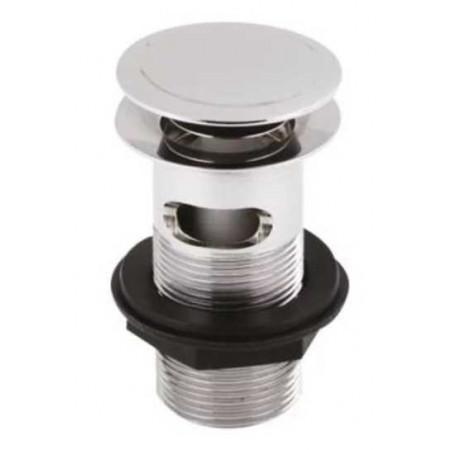 Premier Push Button Basin Waste - Chrome