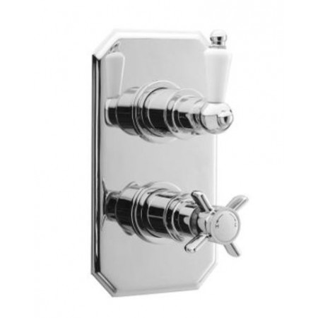 Premier Traditional Twin Concealed Thermostatic Shower Valve A3033