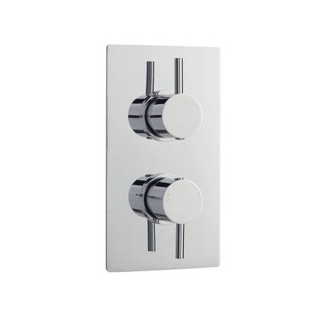 Premier Twin Shower Valve with Built-in Diverter