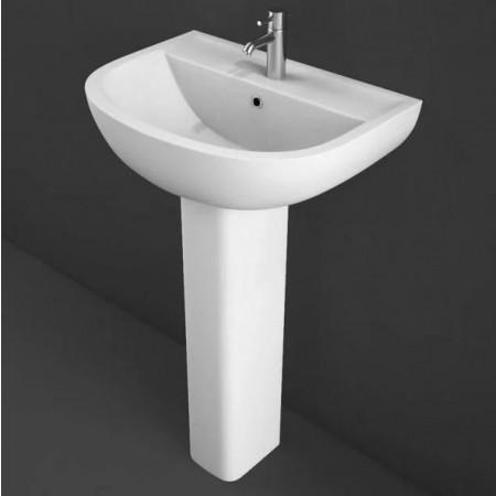 Rak Compact 550mm Basin and Pedestal Cutout