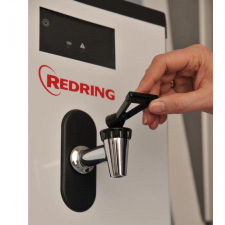 Redring Sensaboil 7.5 Litre In White front with tap