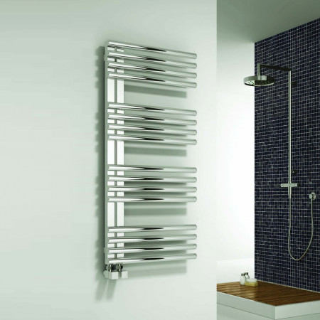 Reina Adora Stainless Steel Towel Radiator 800 x 500mm