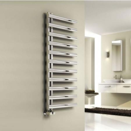 Reina Cavo Polished Stainless Steel Towel Radiator 1230 x 500mm