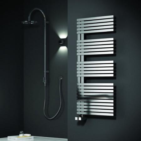 Reina Entice Stainless Steel Towel Radiator 770 x 500mm