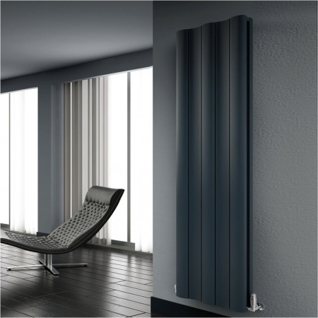 Reina Gio Aluminium Vertical Single Radiator 1800 x 470mm